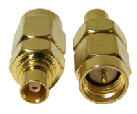 Antennen Kabel Adapter (MCX female - SMA Male)