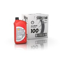 AeroShell Oil 100 - Karton (12x 1 AQ Flaschen, US-Quart)