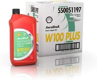 AeroShell Oil W100PLUS - Karton (12x 1 AQ Flaschen, US-Quart)