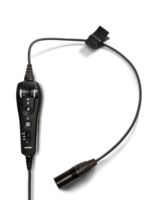 Bose A20 cable kit - XLR 5, straight cable, Bluetooth