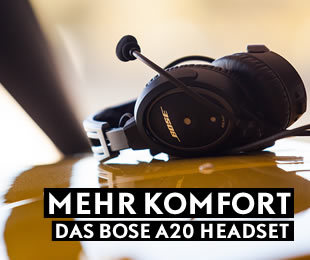 BOSE A20 Aviation Headset - AIR STORE