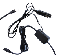 Power- / data cable with mount (PowerFLARM -> Garmin aera 500+550) 24V Cigarette Lighter