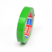 PVC adhesive tape extra thin 19mm (green)