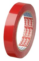 PVC adhesive tape extra thin 19mm (red)
