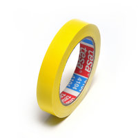 PVC adhesive tape extra thin 19mm (yellow)