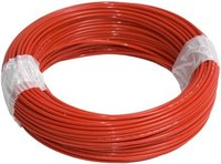 Aviation Cable TEFZEL AWG22 red (10m Roll)